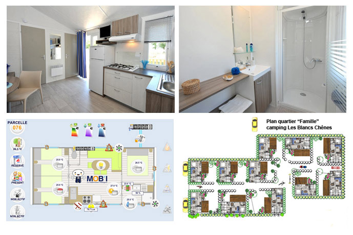 location mobil-home gamme famille